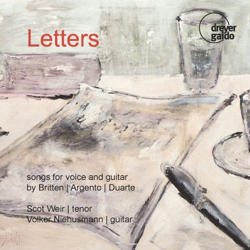 Letters Songs for Voice and Guitar